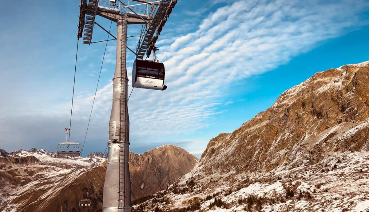 MAJOR NEW ROPEWAYS INFRASTRUCTURES IN FRANCE, SWEDEN AND AZERBAIJAN