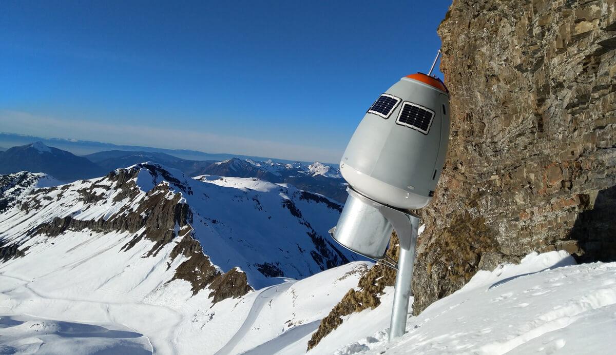 Prévenir le risque avalanche sans impacter les sites de montagne avec l'O'BellX option +